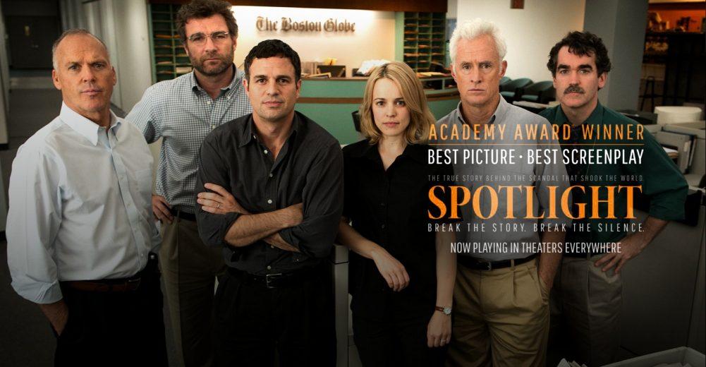 รีวิวหนังเรื่อง Spotlight (คนข่าวคลั่ง) ปี 2015